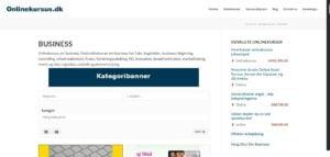 Onlinekursus - find det næste onlinekursus her - Kategoribanner - Billede